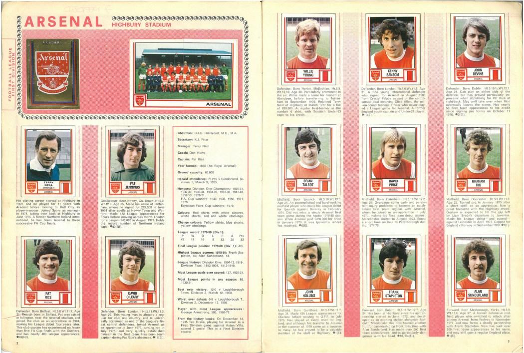 Arsenal 1981