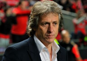 """Benfica boss Jorge Jesus didn't like it when Chelsea striker Didier Drogba labelled him a """"silly willy""""."""