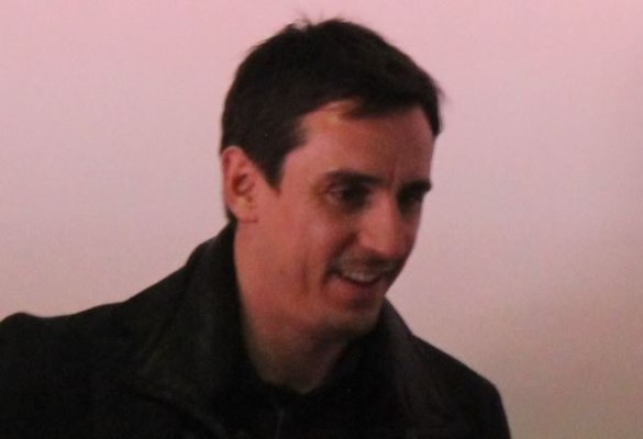 There were all sorts of Gary Neville 7-0 jokes after his Valencia side were thrashed by Barcelona at Camp Nou