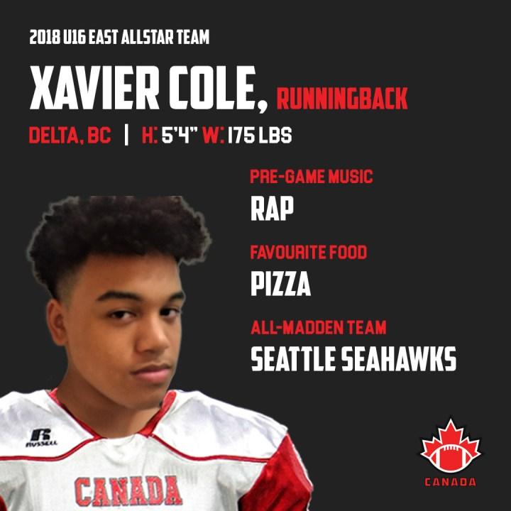 Xavier Cole