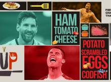 Footballer and Foods