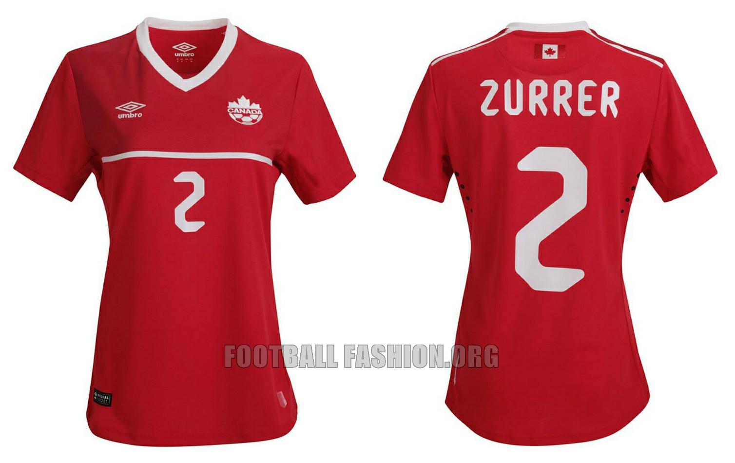 Canada Futbol 2015 The Canada 2015/16 Umbro Home