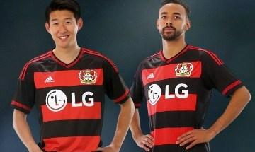 Bayer 04 Leverkusen 2015 2016 adidas Home Football Kit, Soccer Jersey, Shirt, Trikot, Heimtrikot
