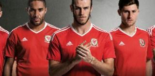 Wales EURO 2016 adidas Home and Away Kits