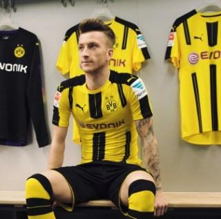 Borussia Dortmund 2016/17 PUMA Home Kit