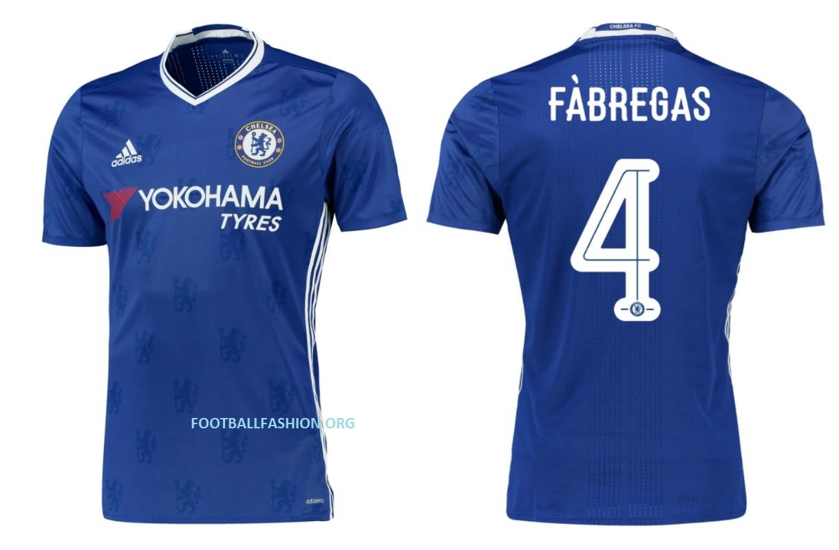 Chelsea Fc 2017 Kit