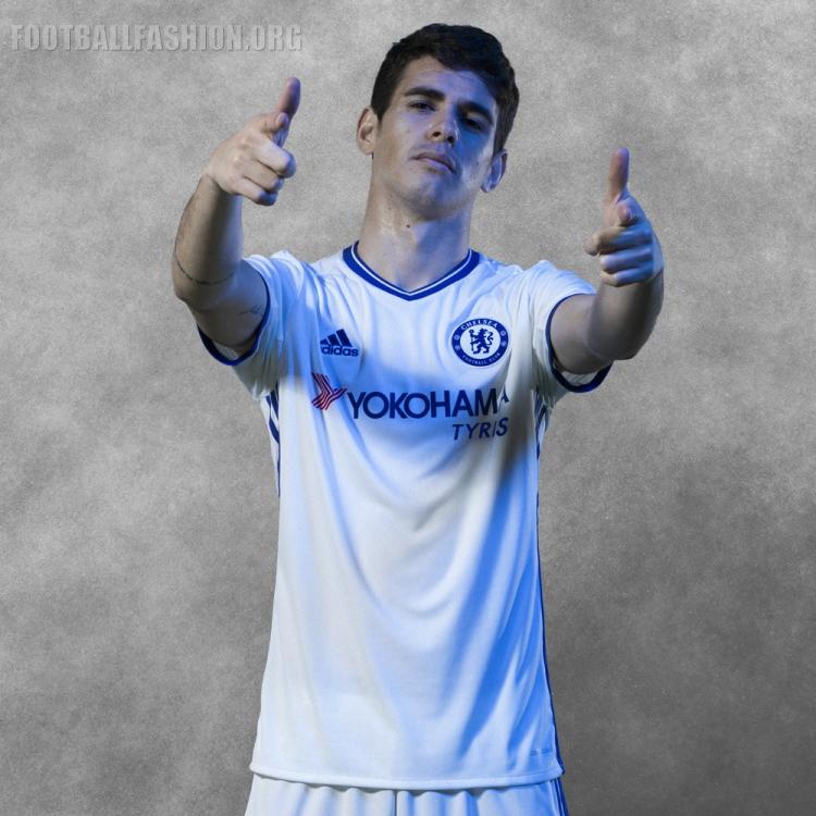 Chelsea FC 2016/17 adidas Third Kit | FOOTBALL FASHION.ORG