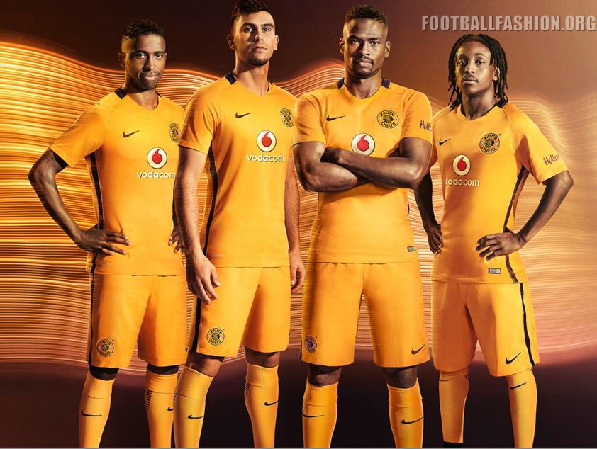 Kaizer Chiefs 2016/17 Nike Home Kit | FOOTBALL FASHION.ORG