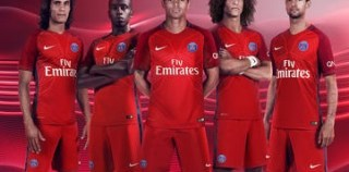 Paris Saint-Germain 2016/17 Nike Away Kit