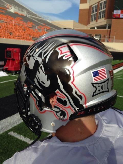 Texas Tech and Oklahoma State both broke out new uniforms ...