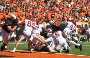 NCAA Football: Iowa State at Oklahoma State