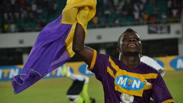 Kwesi Donsu celebrates - Footy-Ghana