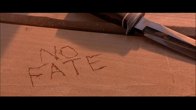 No Fate (but what we carve into innocent picnic tables)