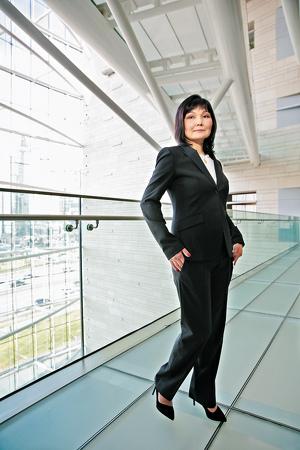 Дана Инкарбекова — управляющий партнер PwC в Казахстане.