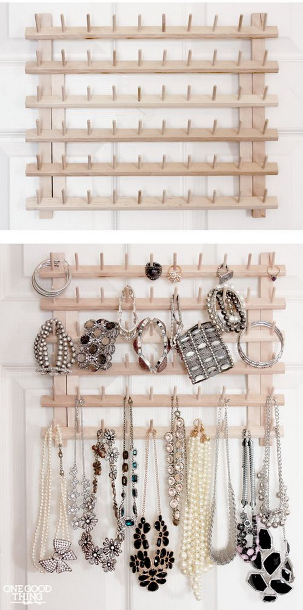 30 Brilliant Diy Jewelry Storage Display Ideas For