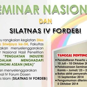 """Call for Papers Seminar Nasional """"Penguatan Industri Keuangan dalam Menghadapi Masyarakat Ekonomi ASEAN 2015"""""""