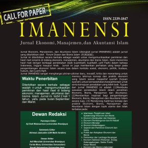 Call for Paper Jurnal IMANENSI