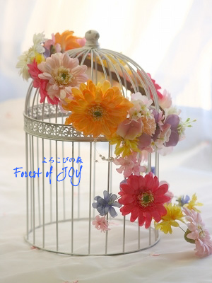 アートフラワー 花冠