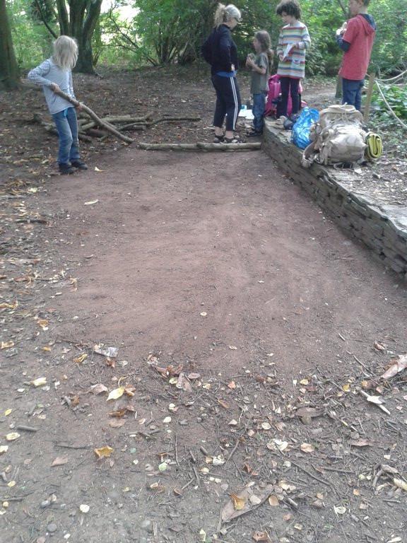 Building a Barefoot Walk 1