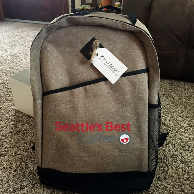Giveaway for Seattle's Best Coffee inside Back Pack $115 Value