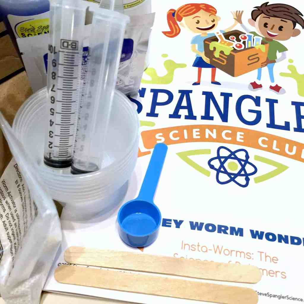 Science kits for adult and child to experiment together