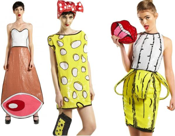 THE RODNIK BAND meat dress chess dress banana dress
