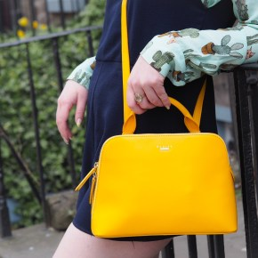 Steal my sunshine - investing in a coloured handbag.
