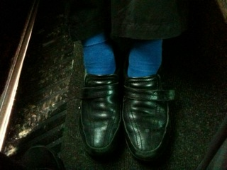 Fairport Convention Blue Socks