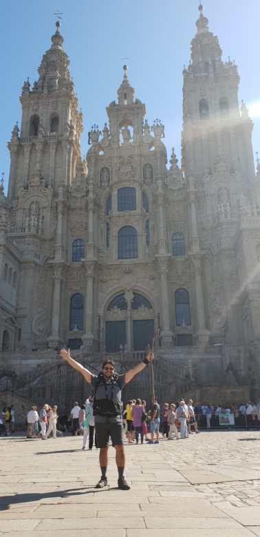 Ramón: llegada a Santiago