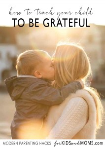 Teaching kids to be Grateful Kindness