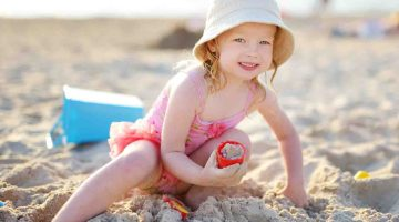 What to Bring to the Beach for Vacation With a Toddler Beach Packing List @forkidsandmoms
