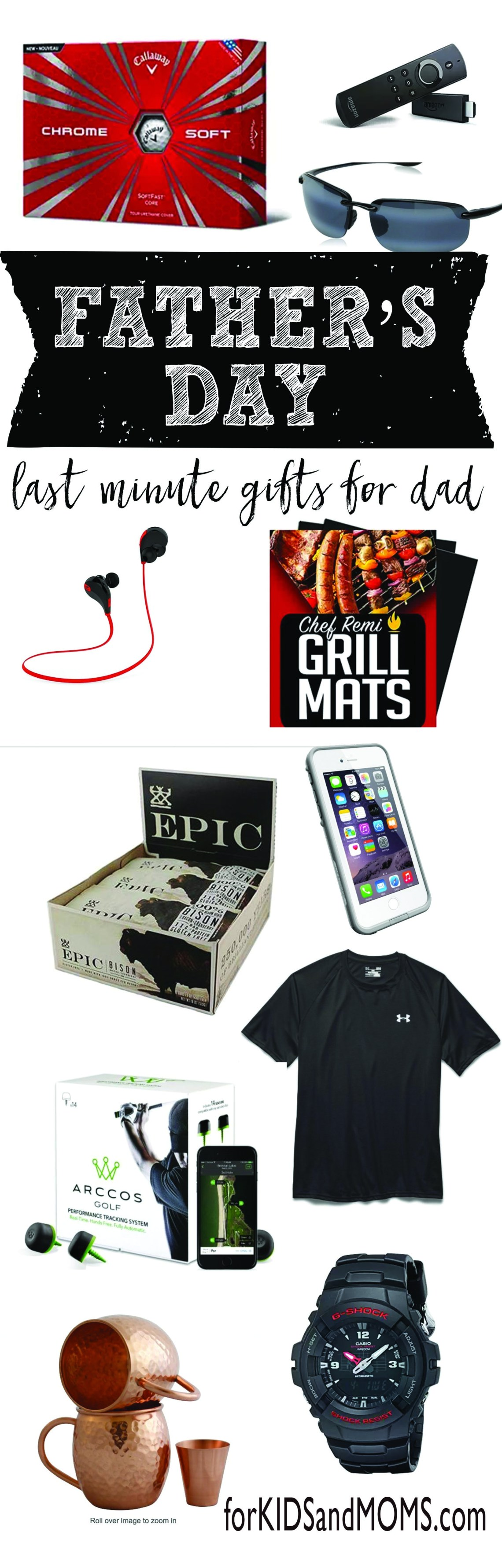 Last Minute Fathers Day Gifts Dad will Love