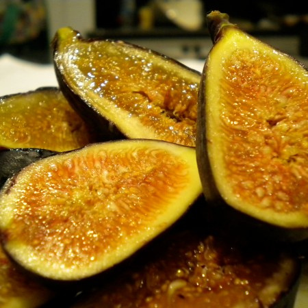 Figs and Homemade Ricotta