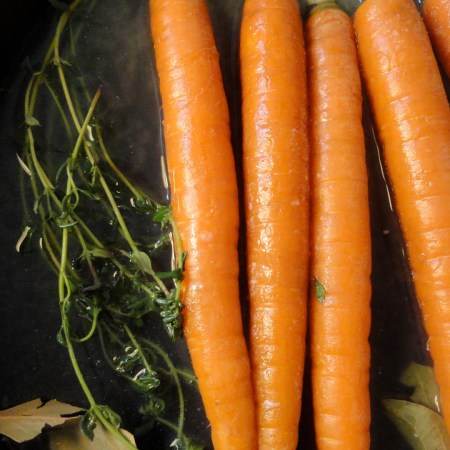 Roasted Carrots with Carrot Top Pistou