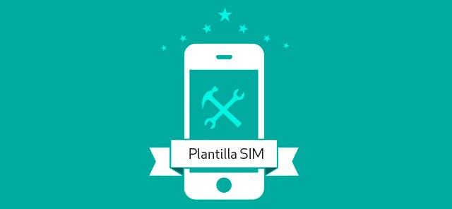 Plantilla para cortar SIM a microSIM y Nano Sim gratis