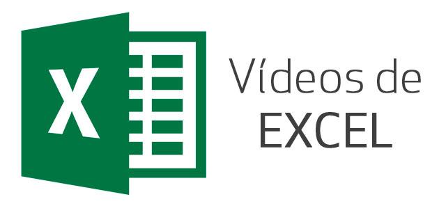 Vídeos de excel: 93 tutoriales paso a paso