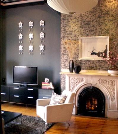 DIY: Using Fabric as Wallpaper | Forma Living