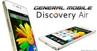 General Mobile Discovery Air format atma