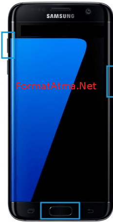Samsung Galaxy On3 format atma