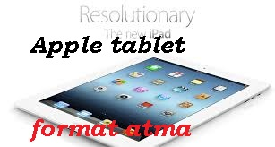 Apple tablet format atma