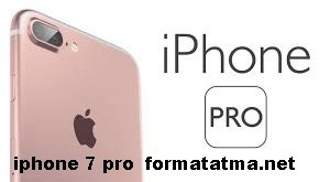 iphone 7 pro  format atma