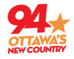 New Country 94 93.9 CKKL Ottawa