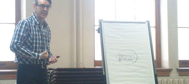 André Bélanger, formation à la communication non-violente