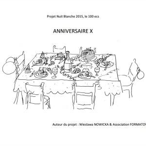 Projekt Anniversaire X [Urodziny X]
