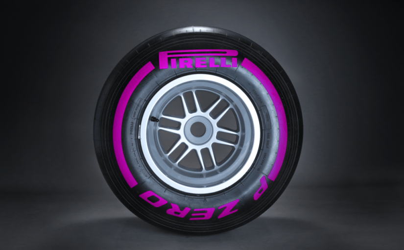 Nya lila färgade ultrasoft däck från Pirelli