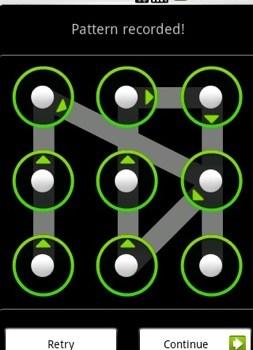 réinitialiser ZTE V5 Nubia V9180 schéma de verrouillage