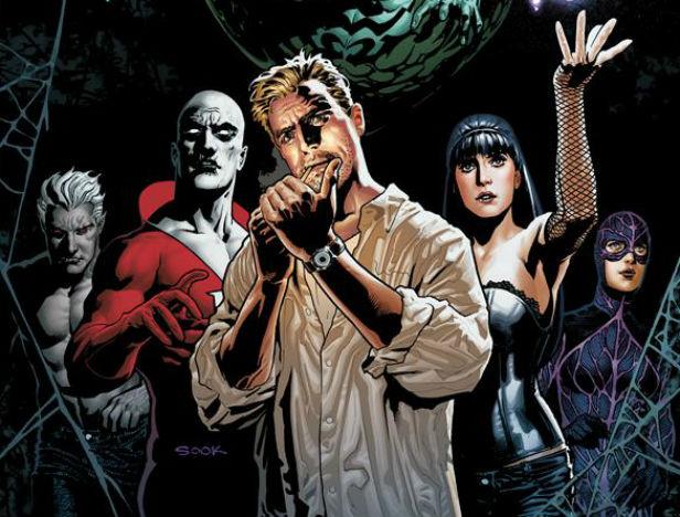 Constantine e a Liga da Justiça Sombria!