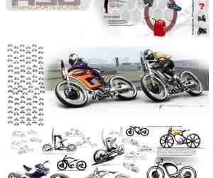 HSB Hybrid Sports Bicycle byTomas Bubilek