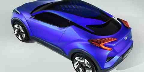 Toyota C-HR concept (2014)