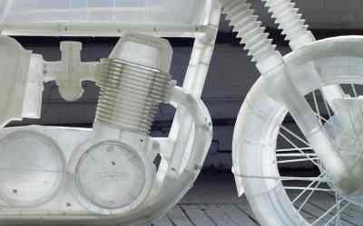 3D printed Honda CB500